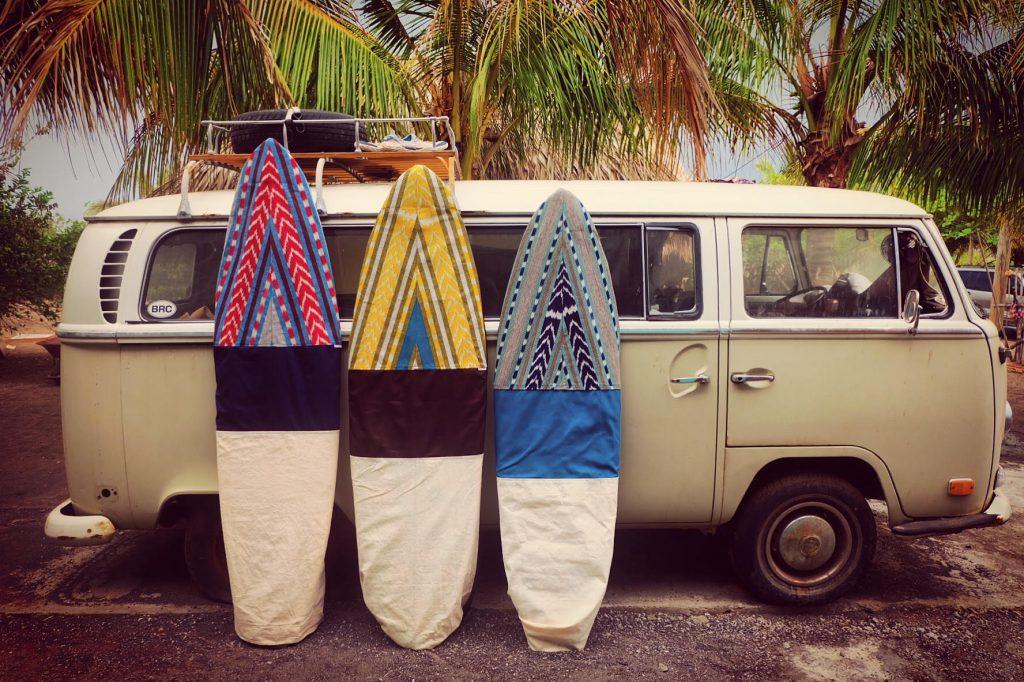 Handmade Guatemalan Surf Sock
